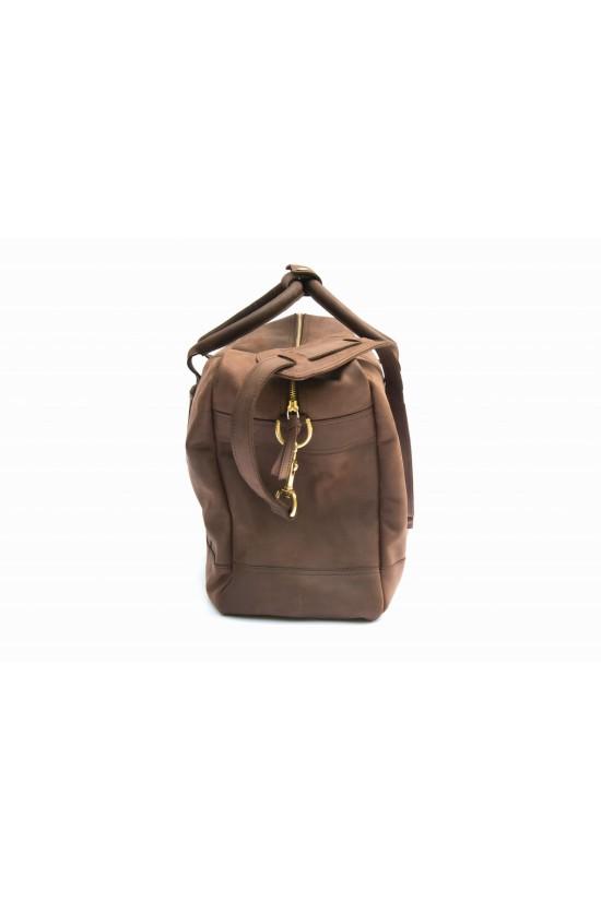 EB Leather Overnight Bag