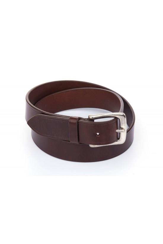 EB Italian Chestnut Leather Belt