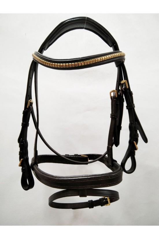 EB Comfort Pony Brass Bridle