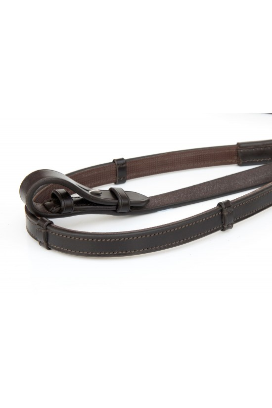 EB Half Rubber Reins with Spacers