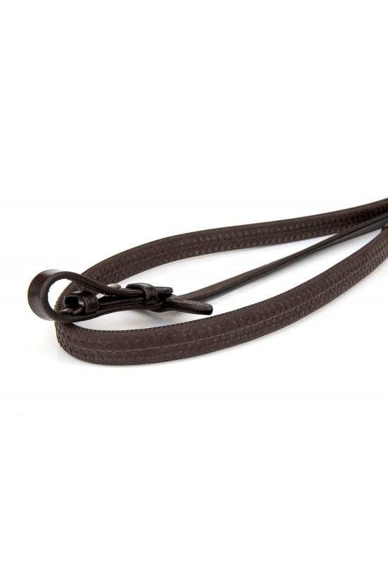 EB Dimpled Rubber Reins